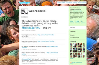 We are Social on Twitter