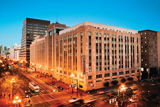Twitter: the microblogging service's headquarters in San Francisco