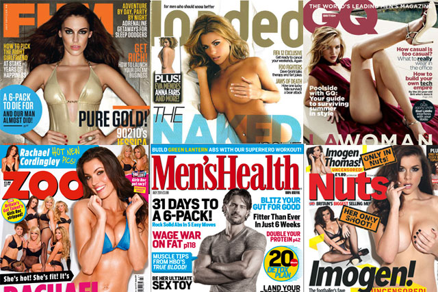 NRS survey: FHM, Zoo and Nuts recorded significant annual readership falls