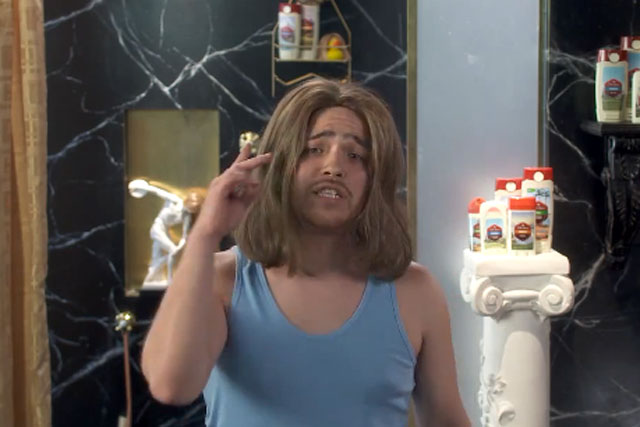Old Spice: Fabio look-alike raps to the camera