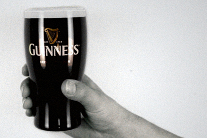 Guinness: high-profile ad campaign for St Patrick's Day