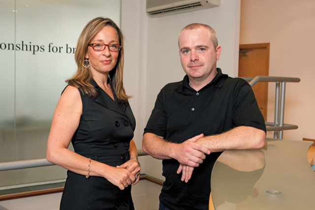 Phillips (l) and Moran: joining The Communications Agency
