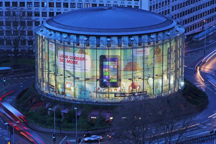 Outdoor Campaign of the Month: Toshiba