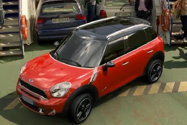 Mini: 3D ad campaign breaks in the US on Friday