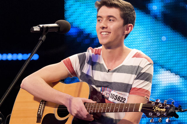 Britain's Got Talent: singer-songwriter Ryan gets through the first round of auditions