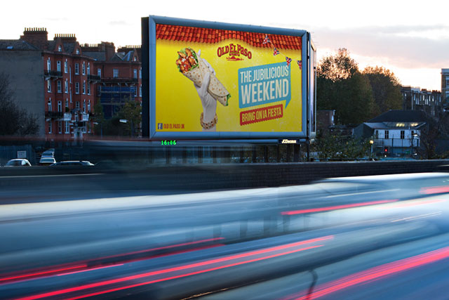 Old El Paso: launches outdoor and digital Jubilee weekend campaign