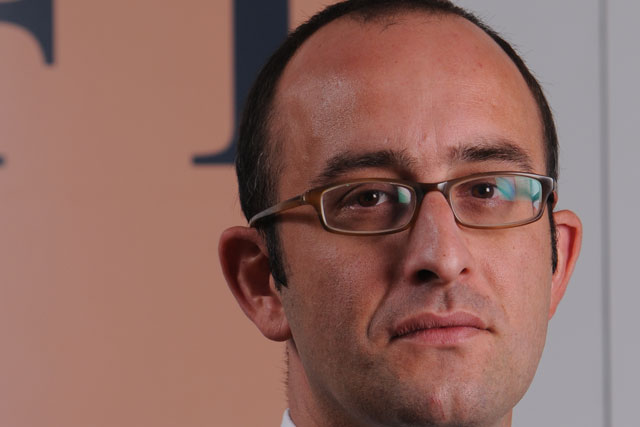 Jon Slade: appointed commercial director digital advertising at FT.com