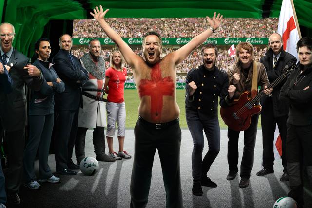 Still from Carlsberg ad