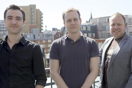 Grey London…(l-r) Leon McCornish, Chris Hirst and Craig Morgan