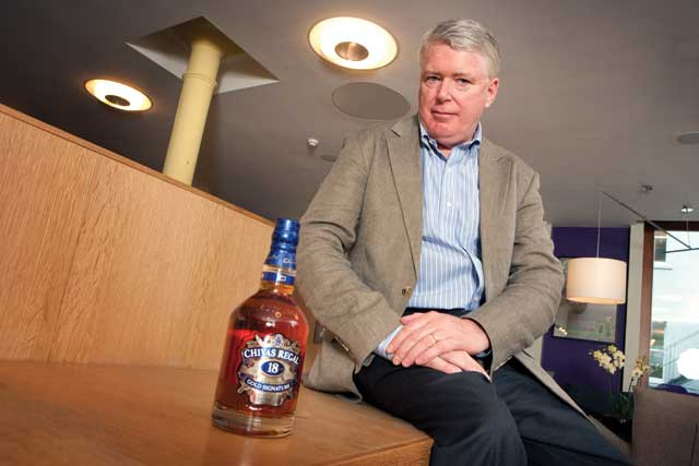 Pernod Ricard, chief marketing officer, Martin Riley
