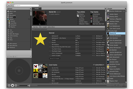 Spotify: premium offering