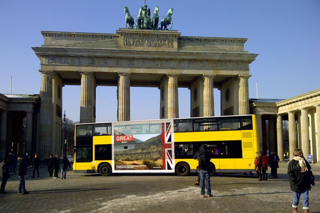 'Great' Britain tourism campaign in Berlin