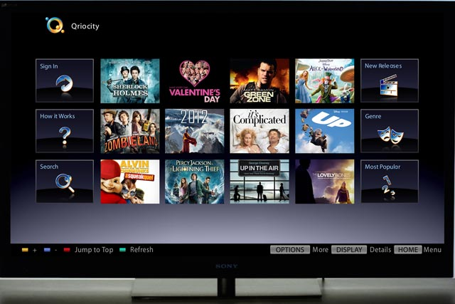 Sony: launches video-on-demand movie service
