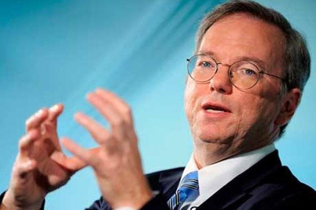 Eric Schmidt: chairman, Google