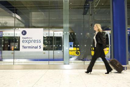 Heathrow Express…raising brand awareness