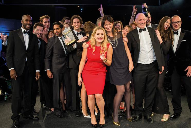 The7stars: last year's Media Week Awards agency of the year