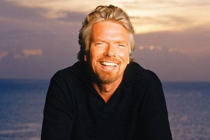 Branson: charity work