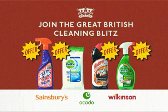 Reckitt Benckiser: promotes early spring clean