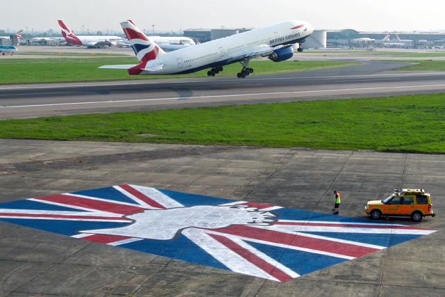 Heathrow: celebrates the Queen's Diamond Jubilee
