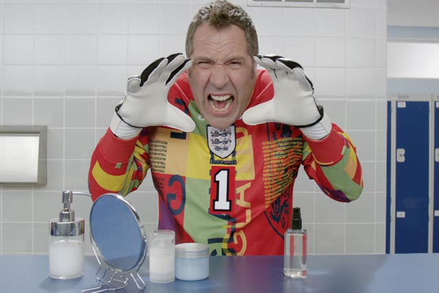 David Seaman: former England goalkeeper stars in Nivea Sensitive range ad