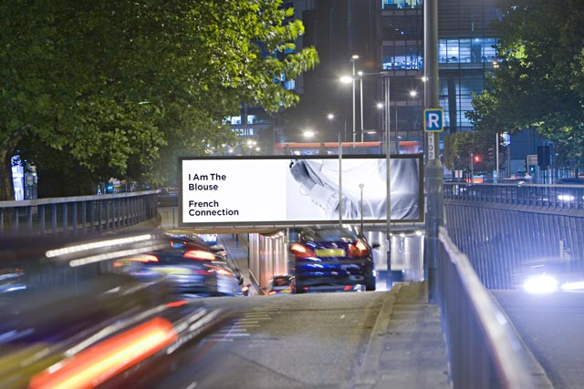 Euston Road underpass: location for two new Outdoor Plus digital screens