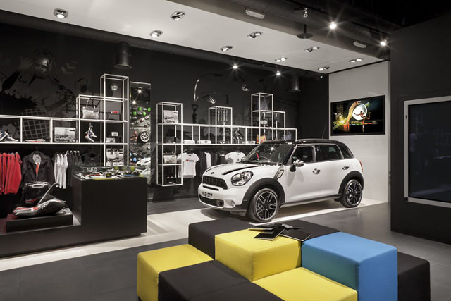 Mini: Westfield store to promote Olympic sponsorship