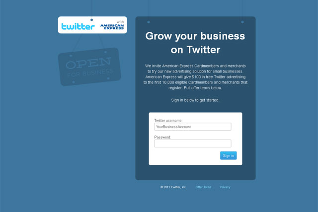 Twitter: targets small and medium-sized companies with self-service ad offer
