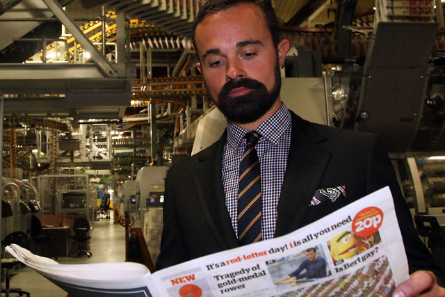 Evgeny Lebedev: owner of the i newspaper