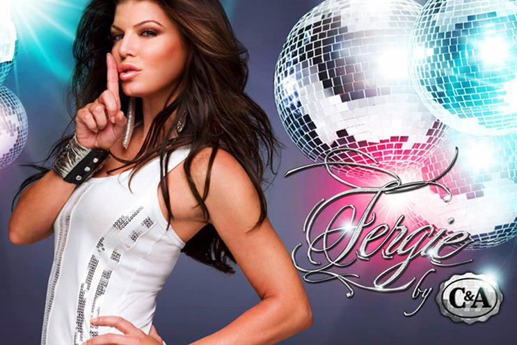 C&A: 2009 Fergie collection campaign