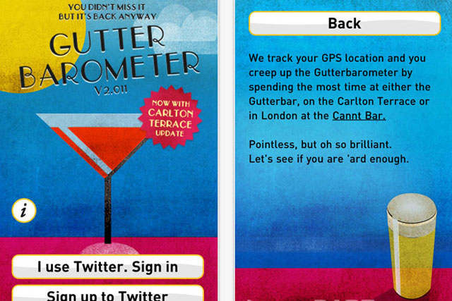 The Gutterbarometer: Dare app tracks festival-goers