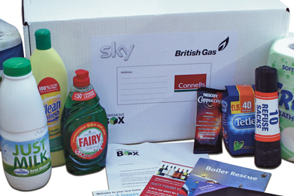 The Move Box: Sky and British Gas team up to supply movers