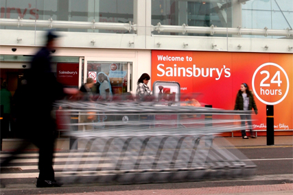 Sainsbury's 4.5% growth in sales