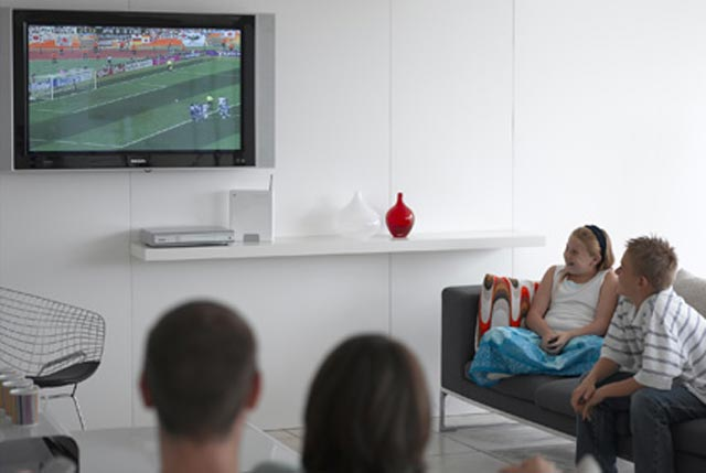 Sixty three percent of all young people agree that they love watching TV
