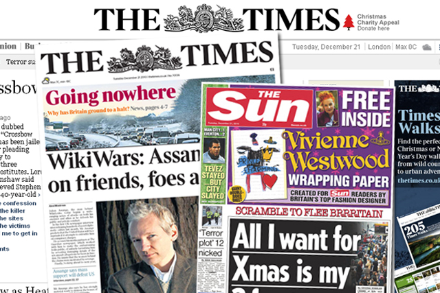 News International: fortunes boosted by improved advertising figures