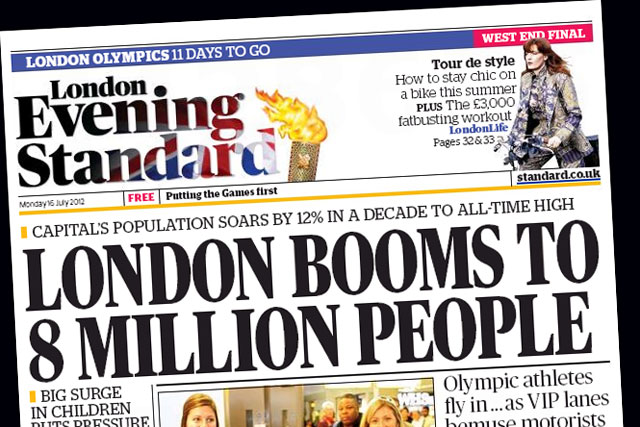 London Evening Standard: to launch replica iPad app