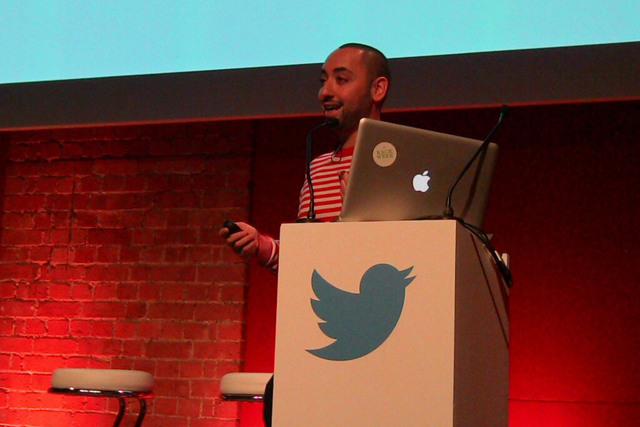 David Levin: speaking at Powered by Tweets