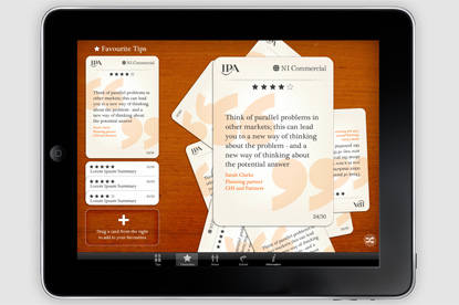 Fast Strategy app: offers advice from top planners