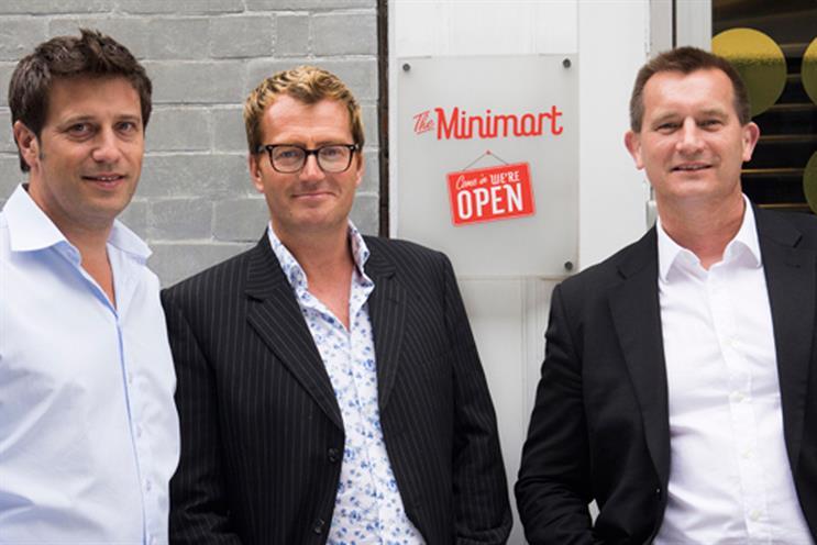 The Minimart: Ed Chilcott, Tim Clyde and Andrew Barrington