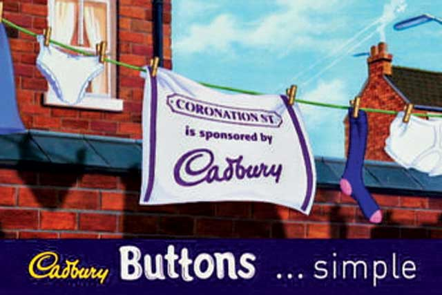 Cadbury: Had struggled to keep the sponsorship fresh