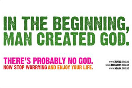 Atheist ad campaign: New Zealand