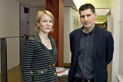 Matty Tong (l) and Graham Fowles