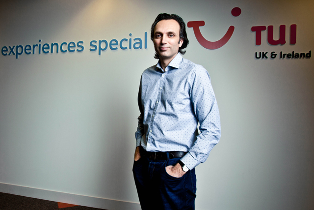 Jeremy Ellis, marketing director, TUI Travel