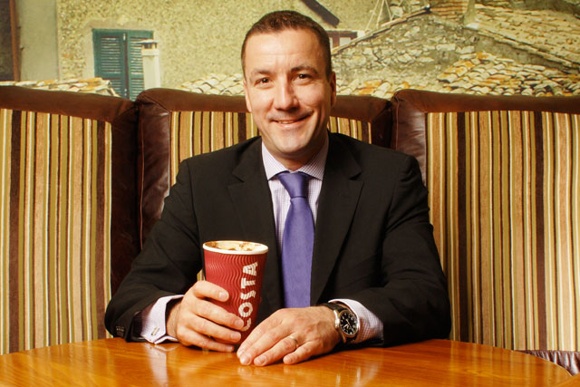 Jim Slater: managing director, Costa Express