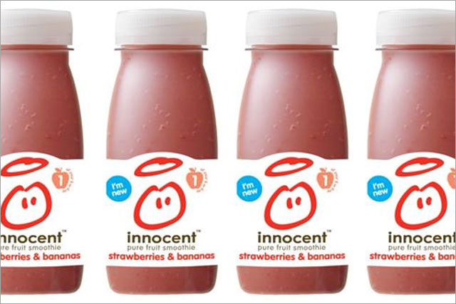 Innocent: rolls out 160ml bottles