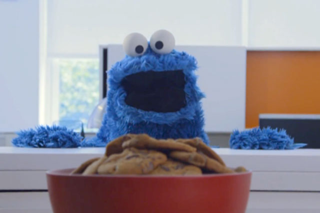 Share it maybe: Cookie Monster is shared more than 301,000 times