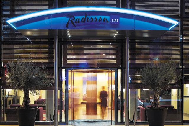 Radisson: briefed agencies