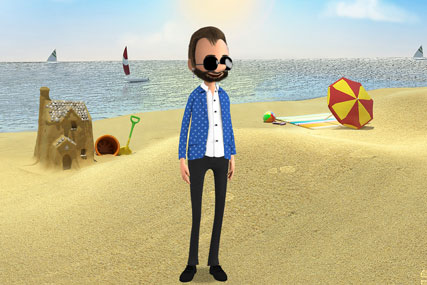 Lloyds TSB…users can create characters such as Ringo Starr
