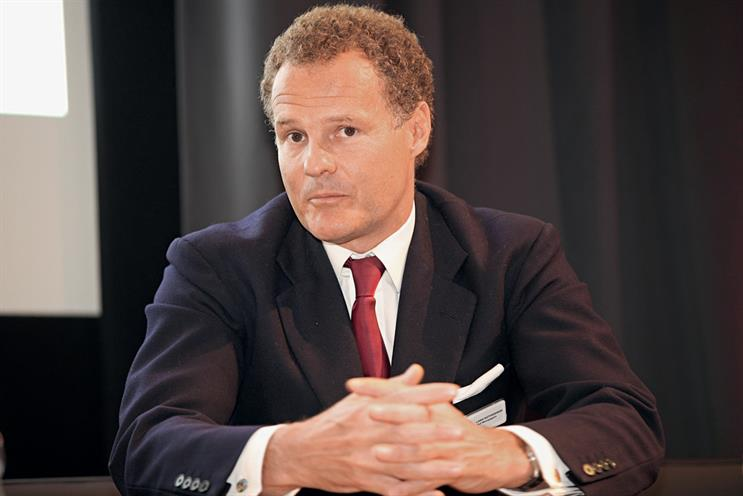 Rothermere…describes Twitter, Google and Facebook as 'frenemies' that, while competing for adspend, 'are a huge source of traffic for us'. Credit: Rob Clayton