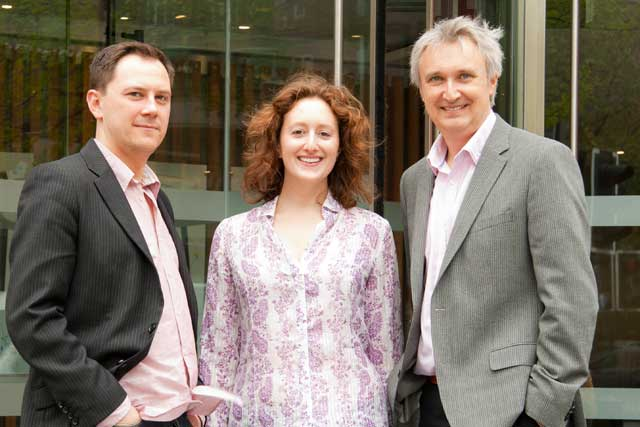 Proximity: Darren Burnett, Gabrielle Moss and Mike Dodds