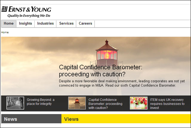 Ernst & Young: appoints UM International  for global media business